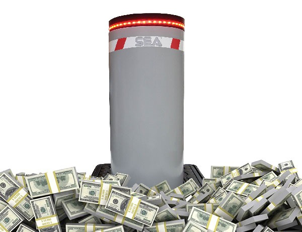 قیمت راهبند ستونی